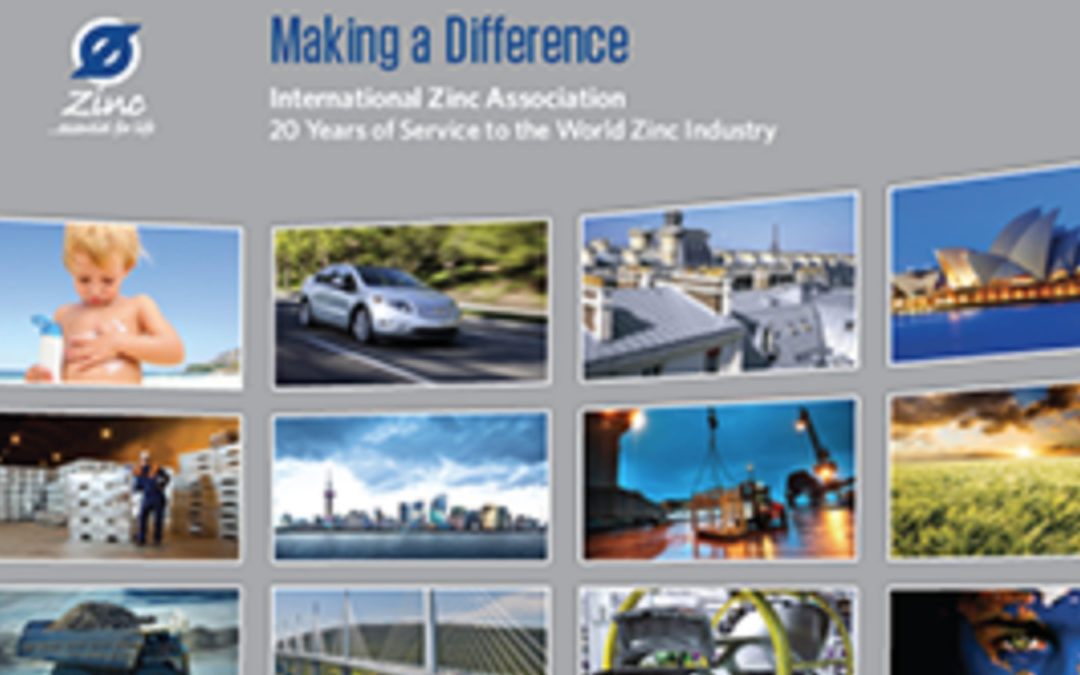 Making a Difference: 20 Years of Service to the World Zinc Industry
