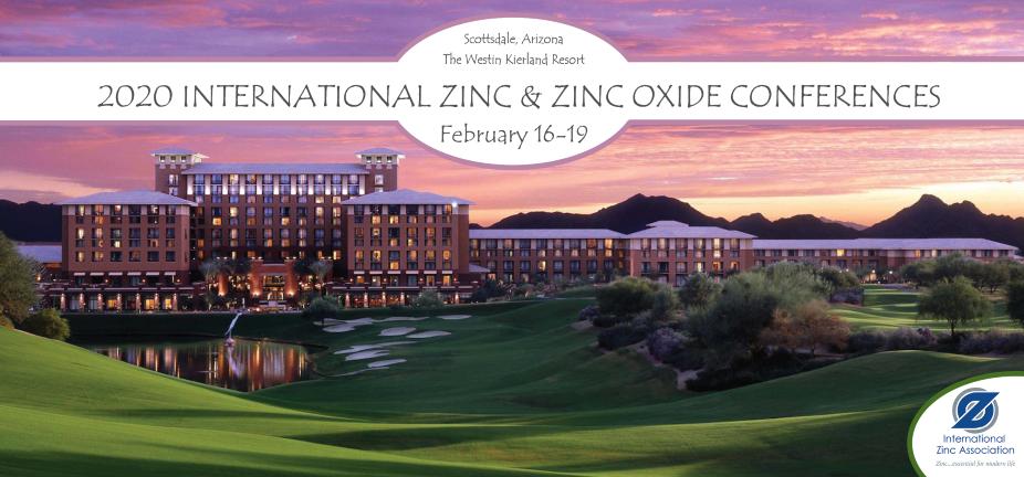2020 International Zinc & Zinc Oxide Conferences