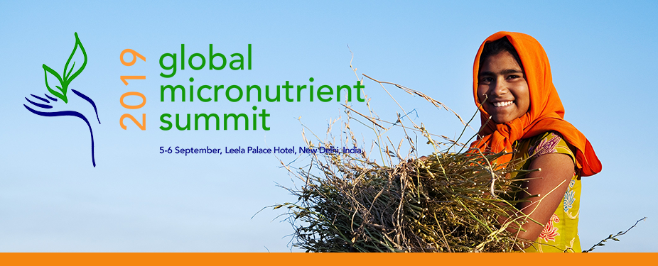 2019 Global Micronutrient Summit – India