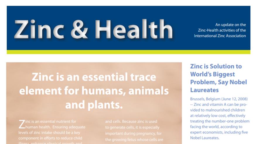 Zinc & Health