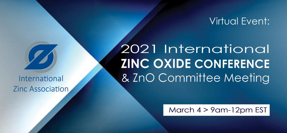 2021 International Zinc Oxide Conference