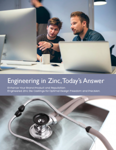 Engineering in Zinc Todays Answer